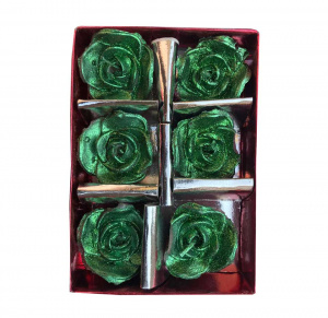 Rose shaped tealight candles