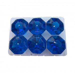 Diamond shaped tealight candles