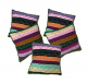 Regular Use Cotton Cushion Covers in Indian Style Set of 5