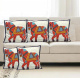 Traditional Jaipuri Horse Patch Work Cushion Cover - Set of 5