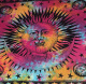 Mandala morning with Sun star double tapestry poster